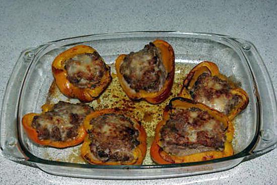 Recette de poivron jaune farci - Cuisiner les aubergines facile ...