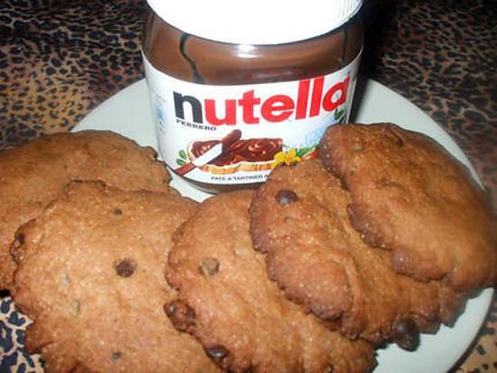 Recette de cookies au nutella de ma choupette - Recette de cookies au nutella ...