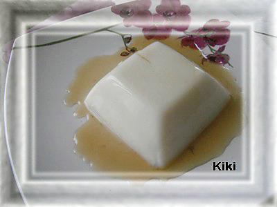 recette Crème caramel sans oeuf