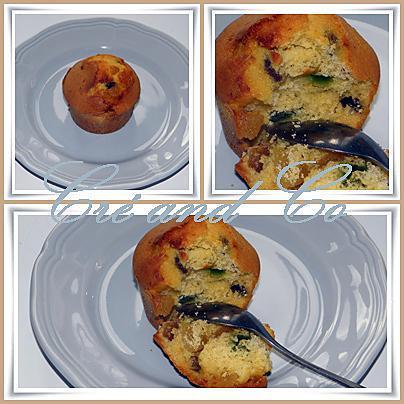 recette Les petits cakes aux fruits confits