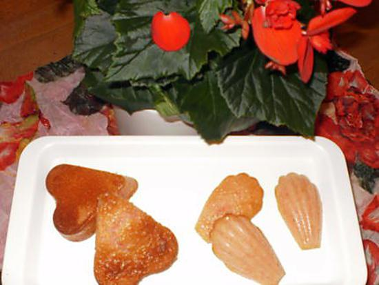 recette muffins aux fraises Tagada ® de lizzie