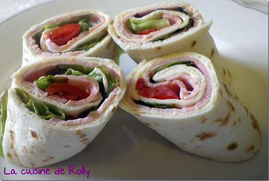 recette de wraps jambon tomate vache qui rit. Black Bedroom Furniture Sets. Home Design Ideas