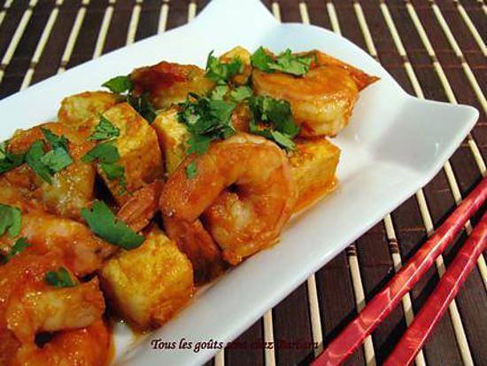 recette de tofu et crevettes la vietnamienne. Black Bedroom Furniture Sets. Home Design Ideas
