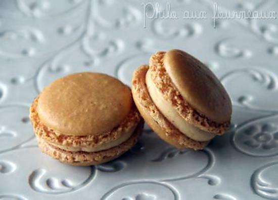 recette de macarons fourrés au caramel beurre salé de pierre hermé