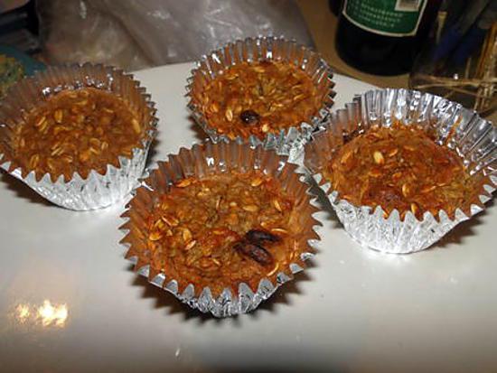 recette de muffins de r gime pommes avoine. Black Bedroom Furniture Sets. Home Design Ideas