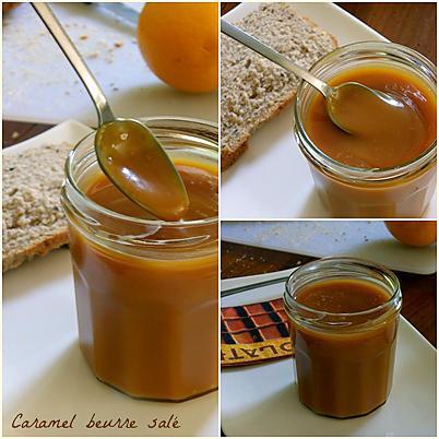 recette de caramel au beurre sal par c 39 est pas du gateau. Black Bedroom Furniture Sets. Home Design Ideas