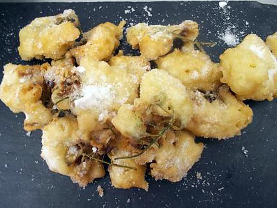 recette beignets de fleurs d'acacias