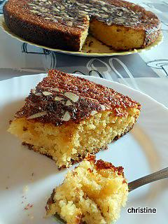Recette de g teau orange amandes super moelleux - Cuisine orientale facile ...