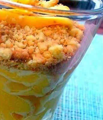 recette Crumble Mangue