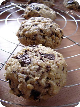 recette Cookies à la farine de kamut