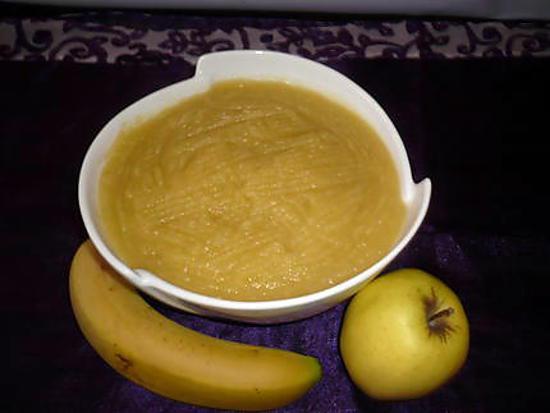 recette de compote bananes pommes. Black Bedroom Furniture Sets. Home Design Ideas