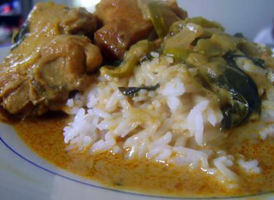 recette Poulet au Basilic et Curry