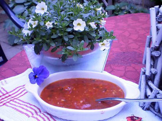 recette sauce tomate pour grillades