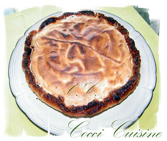 recette Tarte à la Rhubarbe meringuée Alsacienne