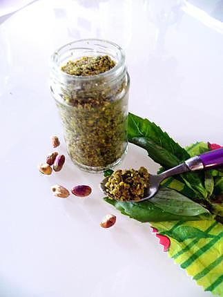 recette Pesto de pistaches
