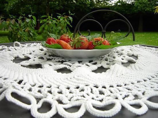 recette les premières fraises du jardin