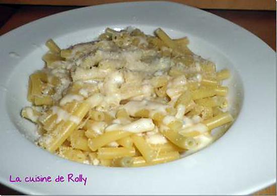recette de p 226 tes aux trois fromages