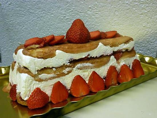 recette charlotte aux fraises très simple