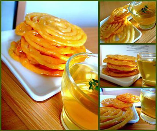 Recette de zlabia patisserie tunisienne - Cuisine orientale facile ...