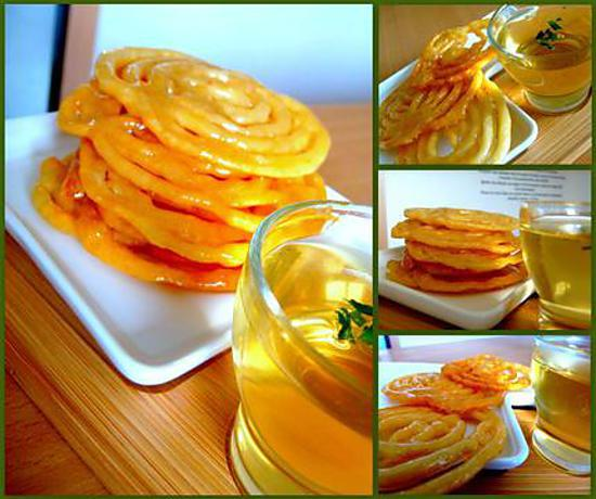 recette Zlabia (patisserie tunisienne)