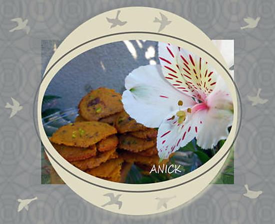 recette Cookies choco-pistache