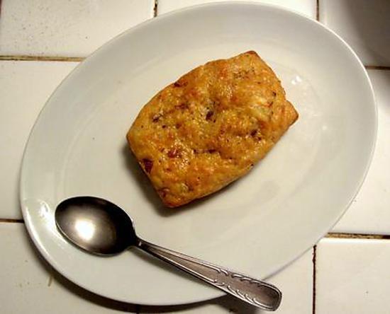 recette Cake au chorizo, chèvre et tomate séchée