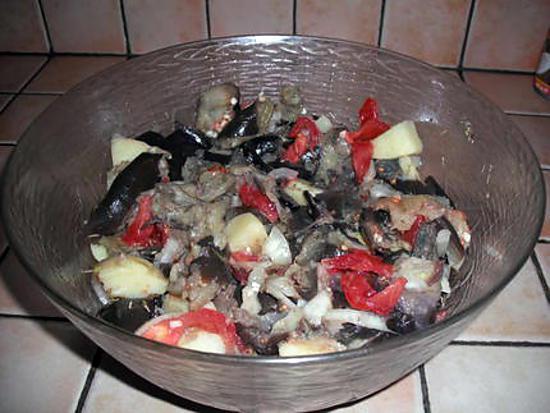 Recette de salade d 39 aubergine l 39 italienne - Aubergine grillee a l italienne ...