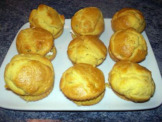 "recette muffins ""salès""au philadelphia"