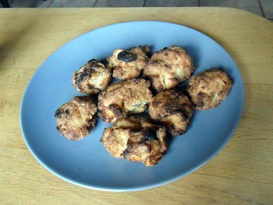 recette Cookies américains choco-banane