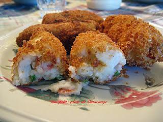 recette Croquettes de simili crabe ( goberge )