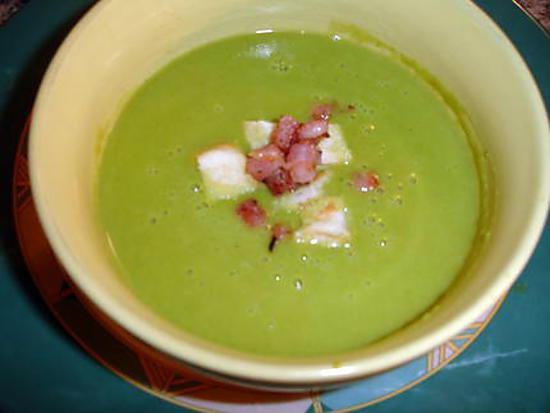 recette Soupe Petits Pois Basilic