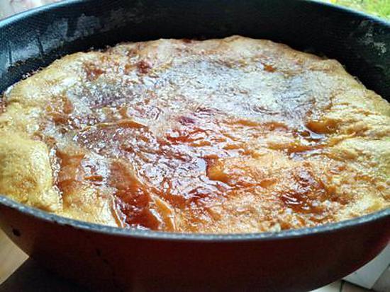recette Tarte au sucre caramelisé ch'ti du nord