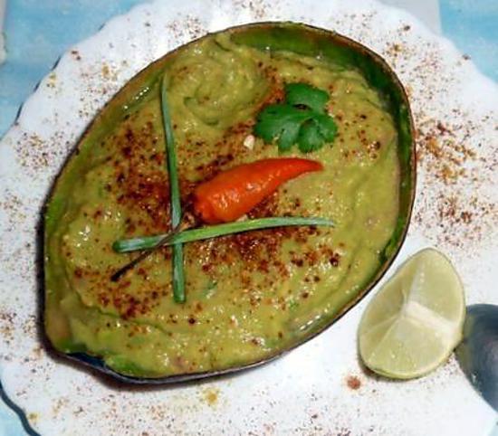 """recette """"Guacamole"""" d'inspiration mahoraise"""