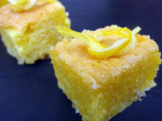 Recette biscuit aux amandes et citron
