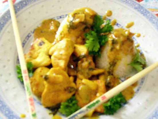 recette poulet à la coriandre et citron vert