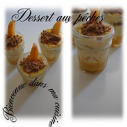 recette de dessert aux p 234 ches