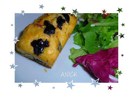 recette Petits cakes olives et tomates séchées