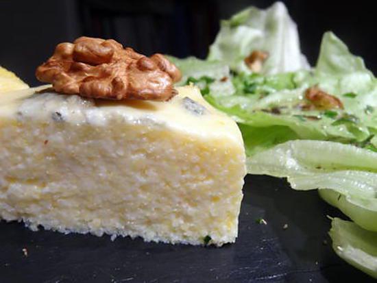 recette Polenta roquefort et noix