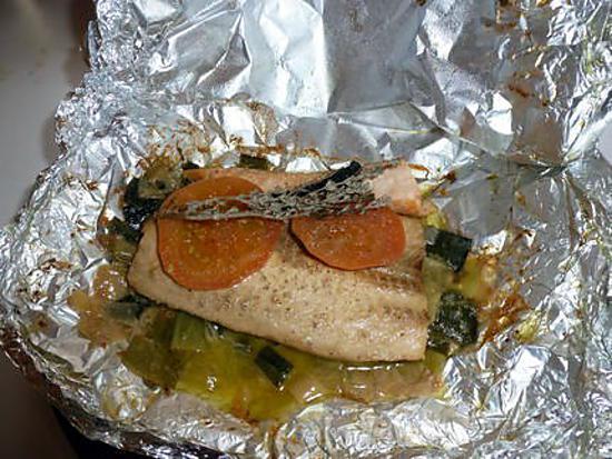 recette saumon en papillotte