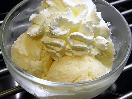 recette glace vanille sans sucre