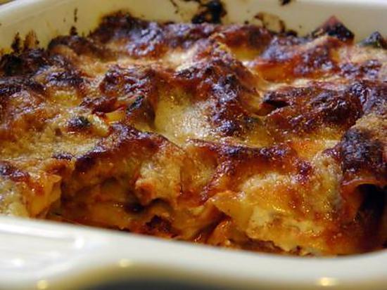recette lasagne aux légumes gartiné