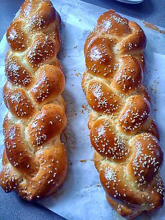 recette pain Brioché tréssé