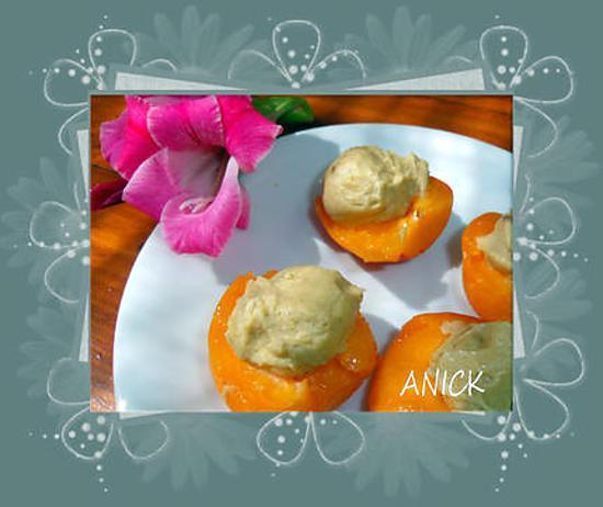 recette Abricots fourrés au mascarpone
