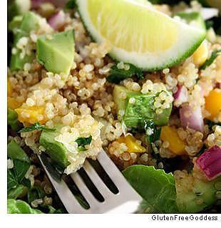 recette Quinoa Taco Salade