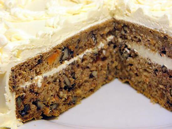 recette de carotte cake aux noix de pécan