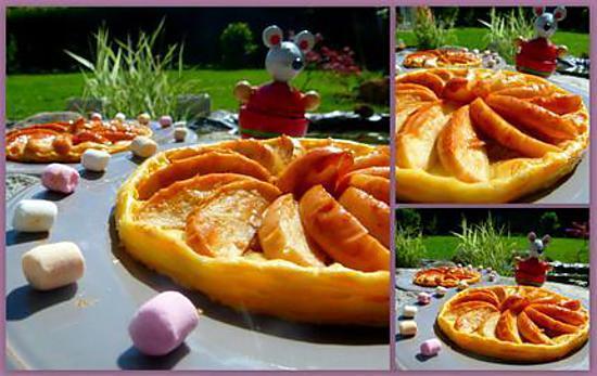 recette Tartelette aux pommes, noix et confiture de lait