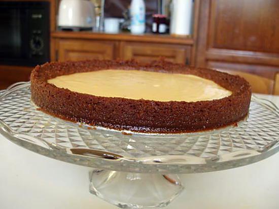 recette de tarte au citron au speculos. Black Bedroom Furniture Sets. Home Design Ideas
