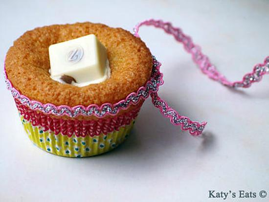 recette Muffins parfumés aux amandes et son chocolat 3D