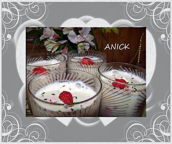 recette Tiramisu aux fraises et copeaux de fève tonka