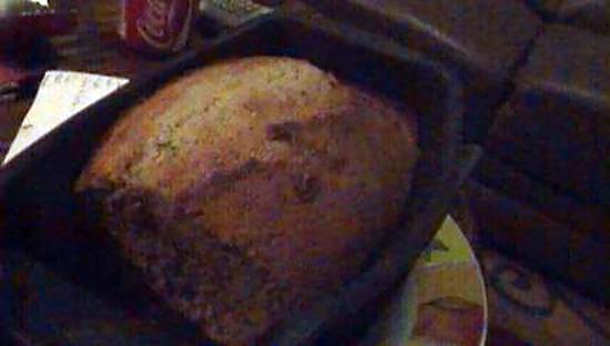 recette cake au thé vert